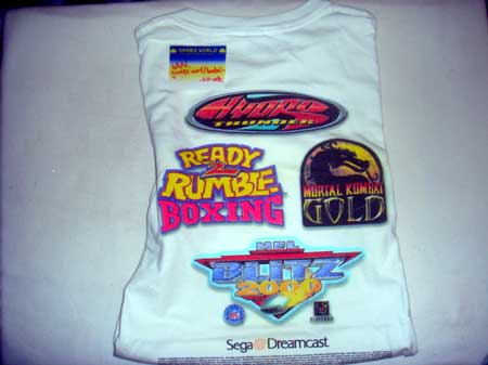 Dreamcast Akklaim T Shirt XL