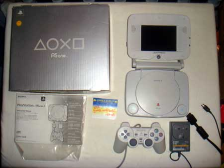 PS One Console With TFT Screen