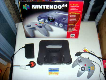 Nintendo N64 Console (Boxed)