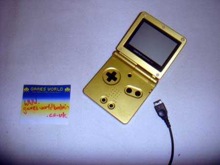 Game Boy Advance SP: Zelda Gold