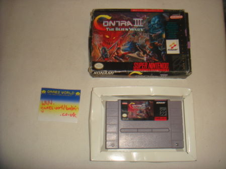 Contra 3: The Alien Wars (USA Import)