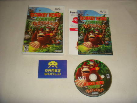 Donkey Kong Country Returns (Import)