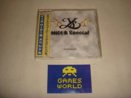 Y's Midimushi Special Soundtrack CD