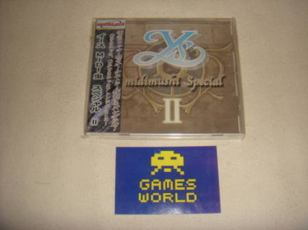 Y's Midimushi Special 2 Soundtrack CD