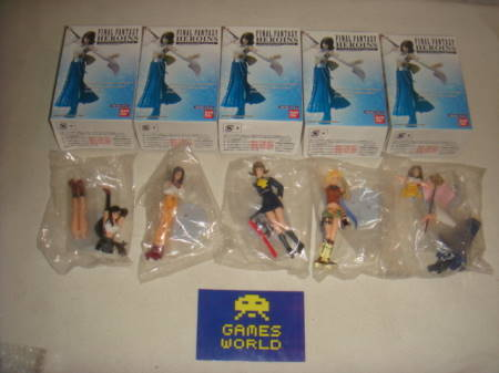 Final Fantasy Heroins Figure Set