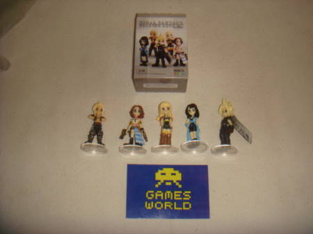 Final Fantasy Trading Arts Mini Set