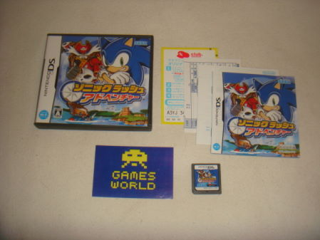 Sonic Rush Adventure (Japanese Import)