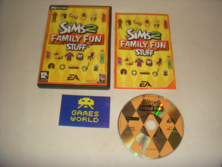 Sims 2 Family Fun Stuff Expansion Pack