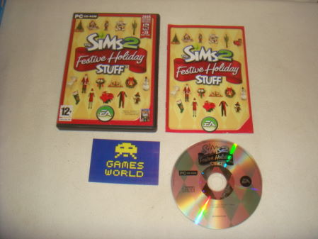 Sims 2 Festive Holiday Stuff Expansion Pack
