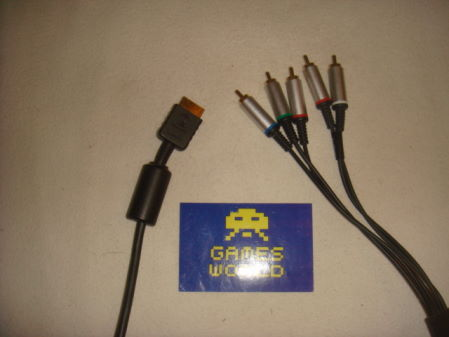 Official PS2 Component Cable