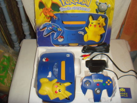 Nintendo N64 Console: Pokemon Edition