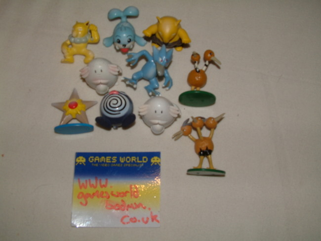 10 small Pokemon Figures