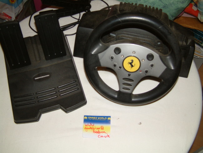Dreamcast Ferrari Wheel