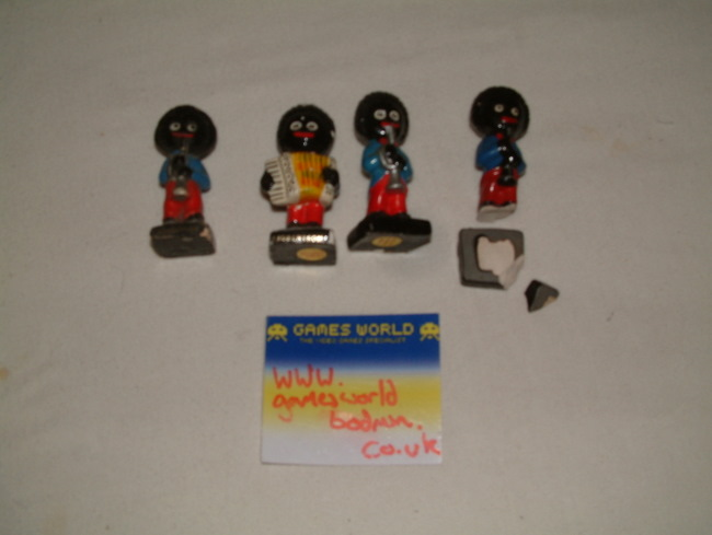 Set of 4 Gollywog figures