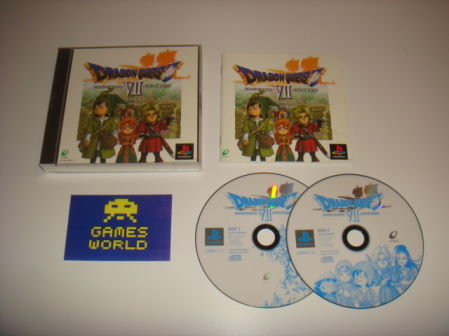 Dragon Quest VII (7) (Japanese Import)