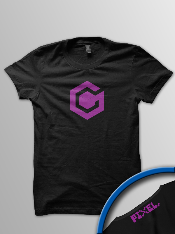 Pixel Pixels: Game Cube T Shirt