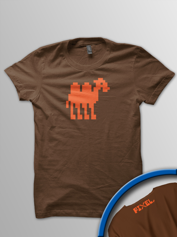 Pixel Pixels: Pixel Mutant Camel (Brown)