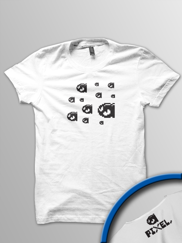 Pixel Pixels: Bullet Hell T Shirt - Click Image to Close