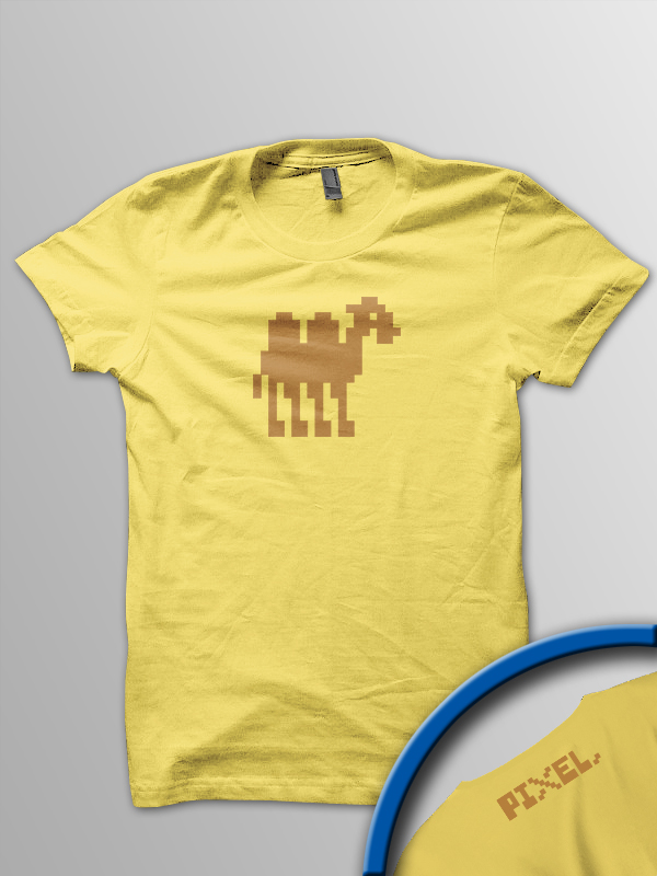 Pixel Pixels: Pixel Mutant Camel (Yellow)