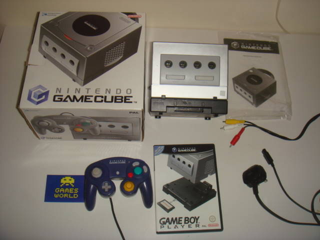 Game Cube: Silver with Game Boy Player