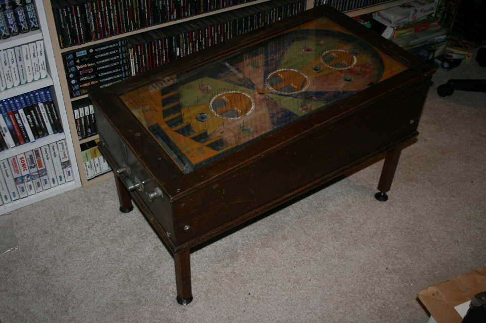 BAN Co. Penny Pinball Machine / Coffee Table