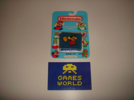 Mario Hammer Badge