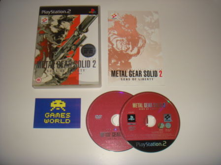 Metal Gear Solid 2 (Inc Making of)