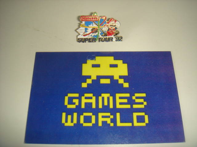 Nintendo Super Tour 92 Badge