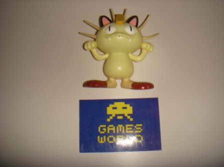Pokemon Talking Meowth Figure