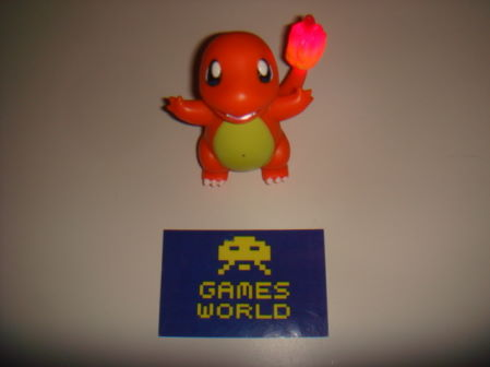 Pokemon Talking Charmander Figure