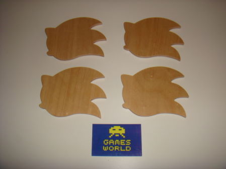 Sonic the Hedgehog: Set of 4 Coasters