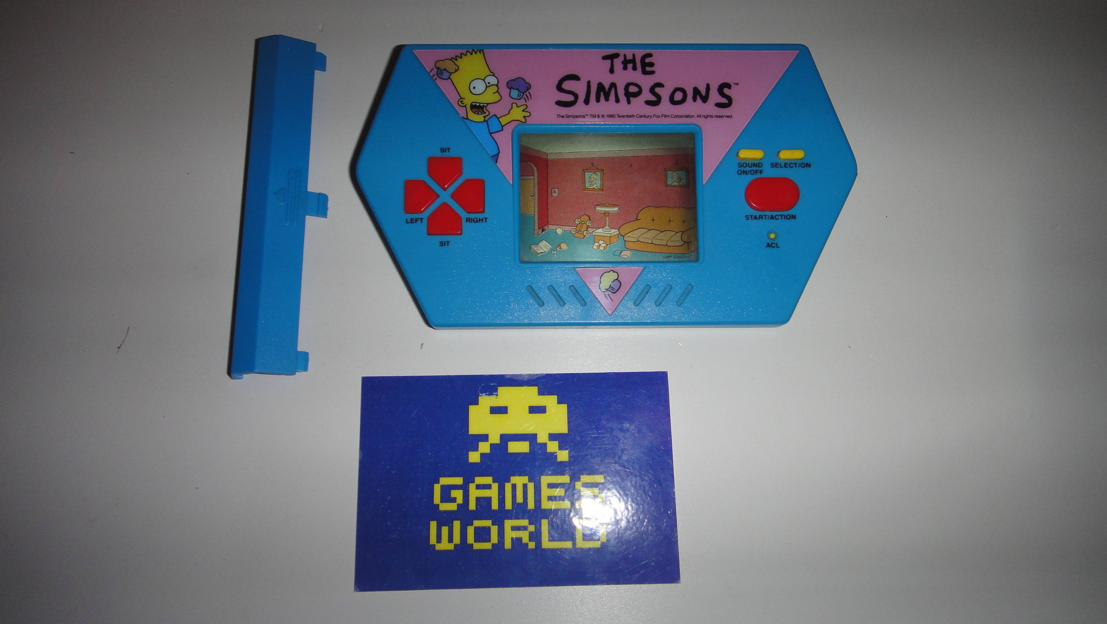 The Simpsons LCD Game
