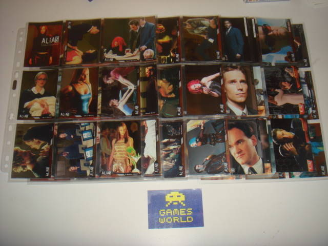 Alias Seaon 1 Premium Trading Cards Complete Set