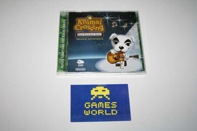 Animal Crossing Your Favourite Songs Club Nintendo CD