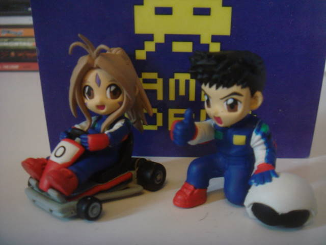 Anime: Set opf 2 Karting Figures