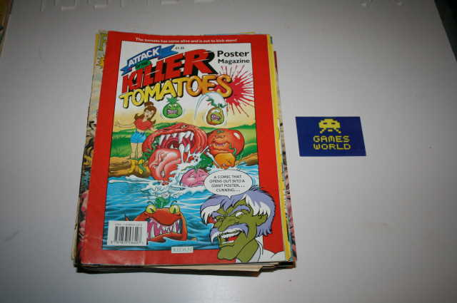 Attack of the Killer Tomatoes Poster Magazine