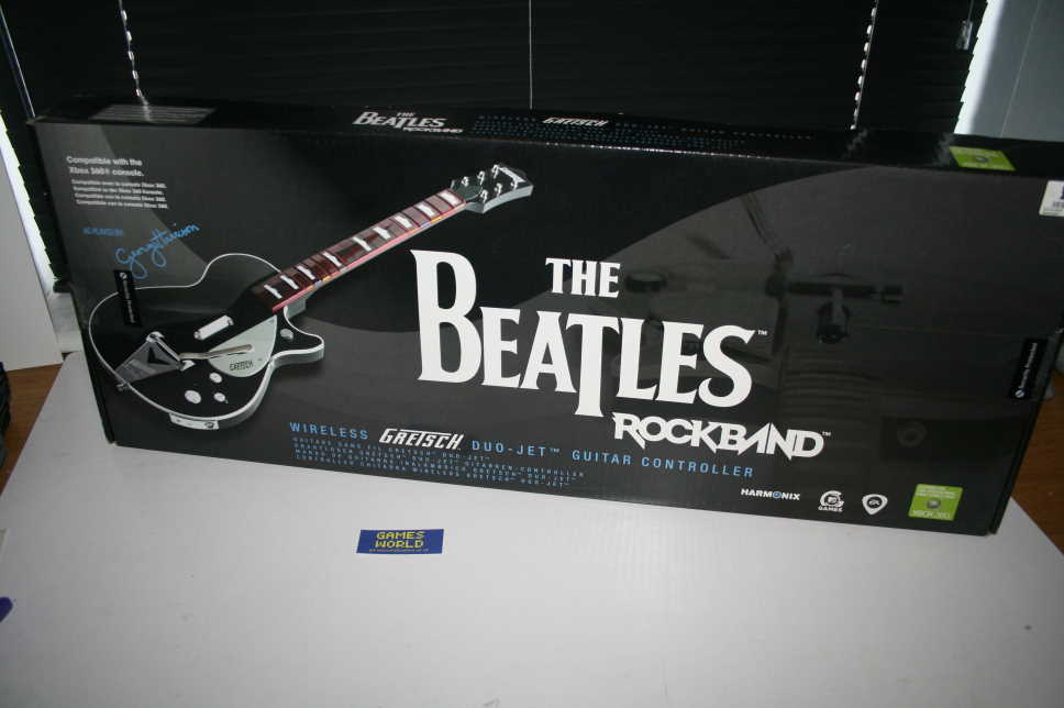 Rock Band Beatles: George Harrison Gretsch Guitar Xbox 360
