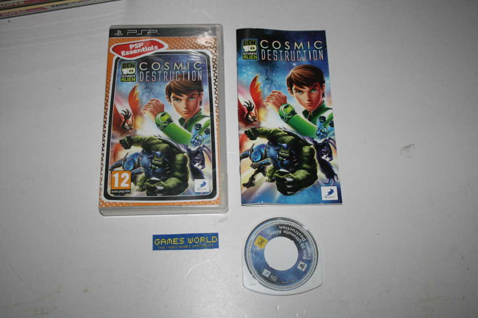 Ben 10 Ultimate Alien Cosmic Destruction (Essentials)