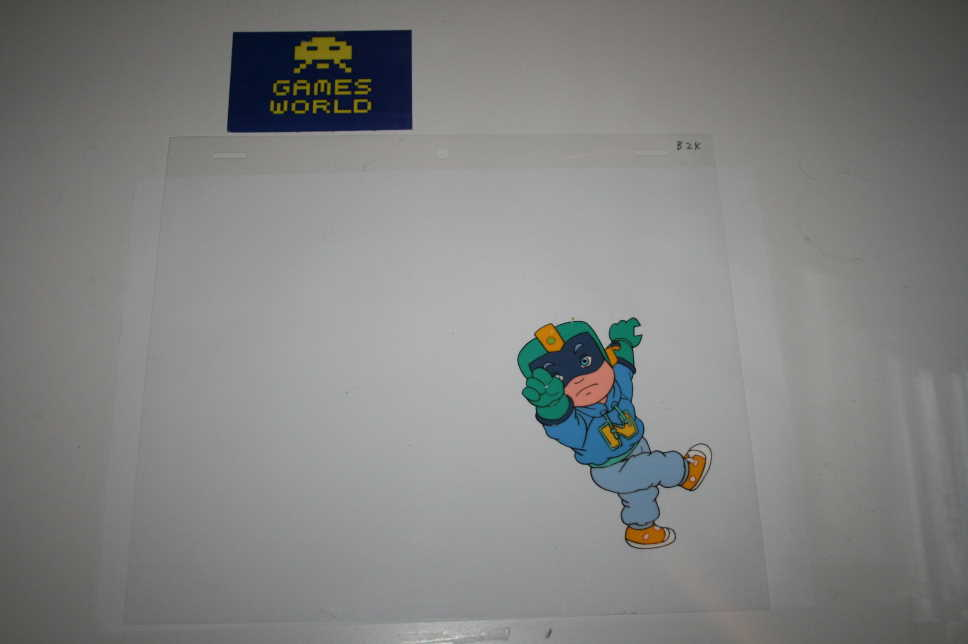 Captain N Animation Cel 2