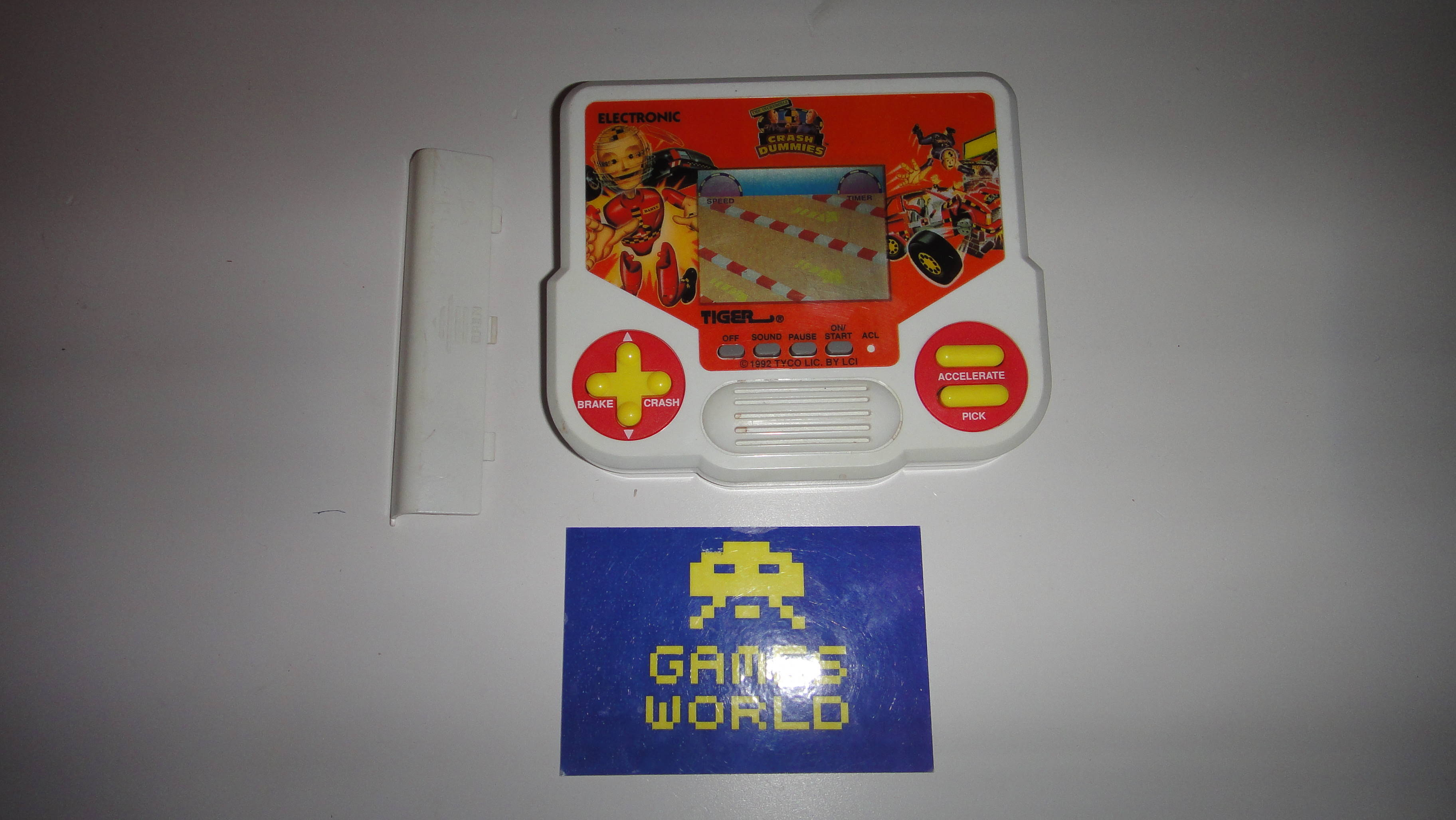 Crash Dummies Tiger LCD Game