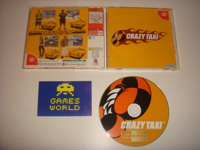 Crazy Taxi (Japanese Import)