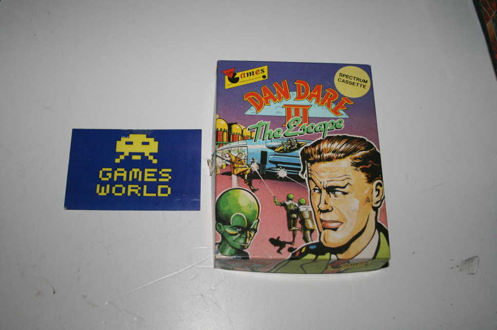 Dan Dare 3 The Escape