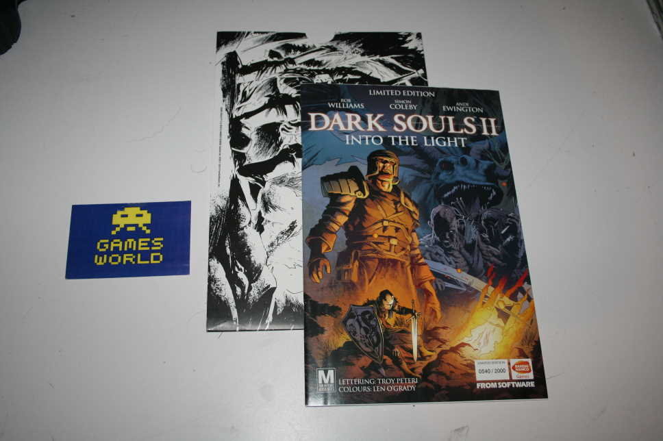 Dark Souls 2 Limited Edition Comic