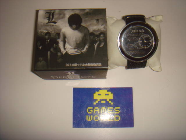 Death Note: Wrist Watch (L)