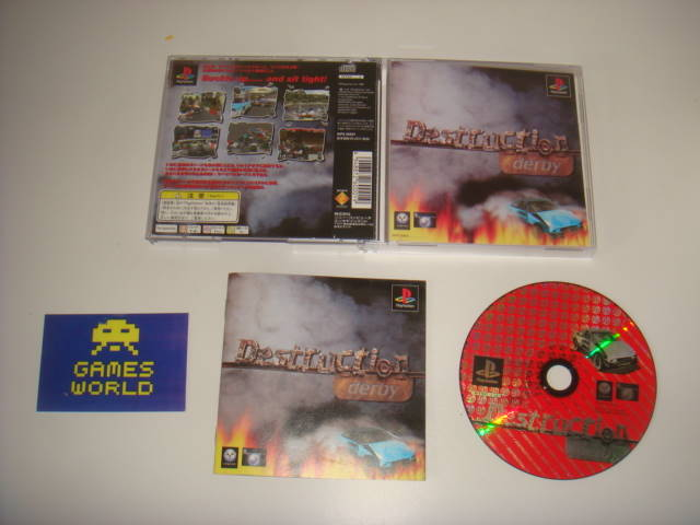Destruction Derby (Japanese Import)