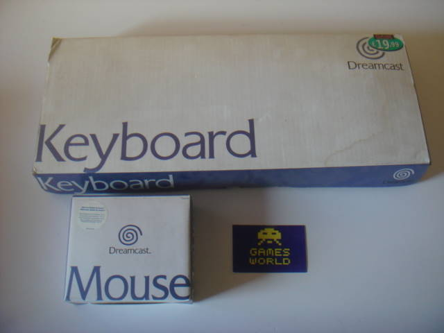 Dreamcast Mouse and Keyboard