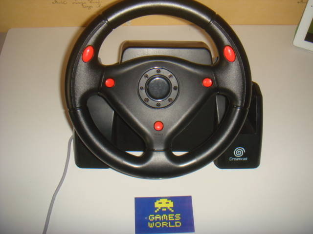 Dreamcast Offical Wheel