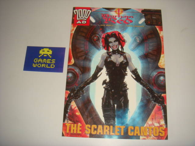 2000 AD: Durham Red The Scarlet Cantos