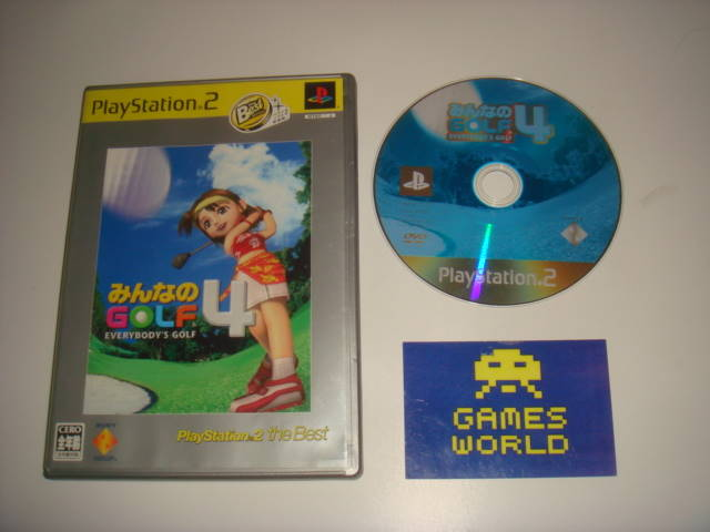 Everybody's Golf 4 (Japanese Import)