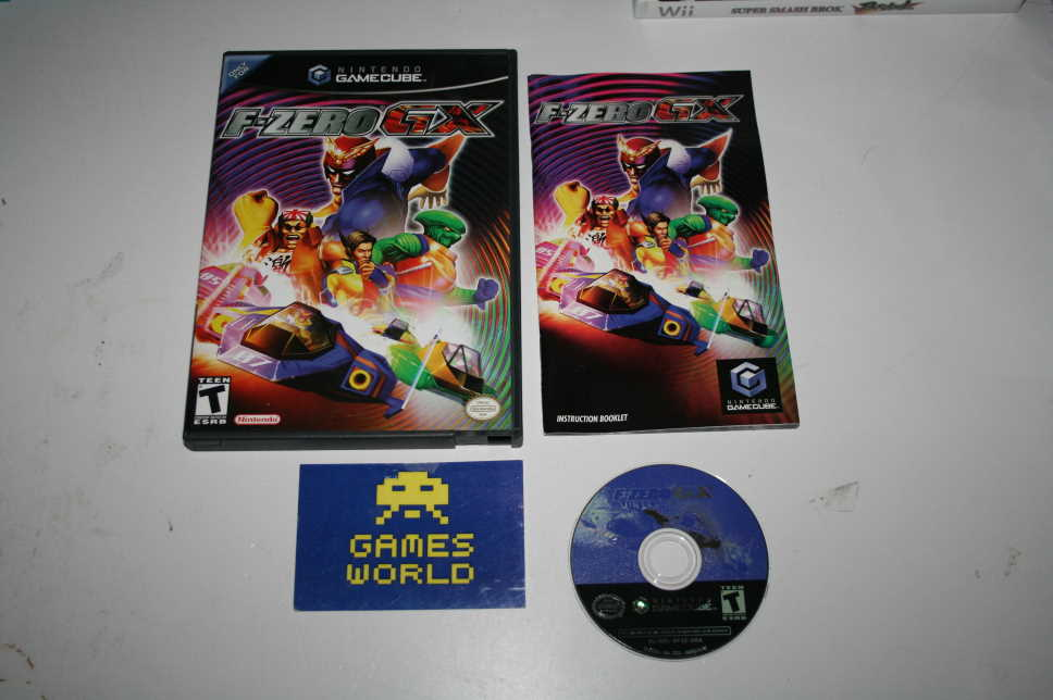 F Zero GX (USA Import) - Click Image to Close